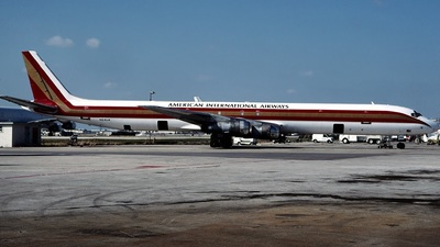 N24UA - Douglas DC-8-61(F) - American International Airways (Kalitta)