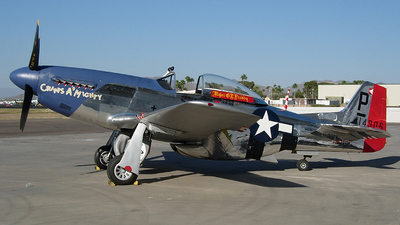 NL151BW - North American P-51D Mustang - Private