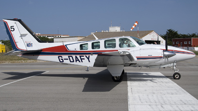 G-DAFY - Beechcraft 58 Baron - Private