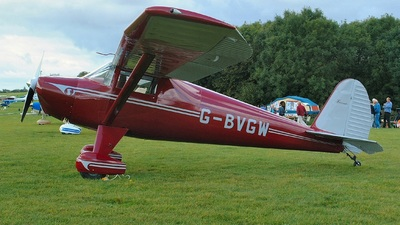 G-BVGW - Luscombe 8A Silvaire - Private