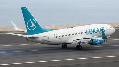 LX-LGQ - Boeing 737-7C9 - Luxair - Luxembourg Airlines