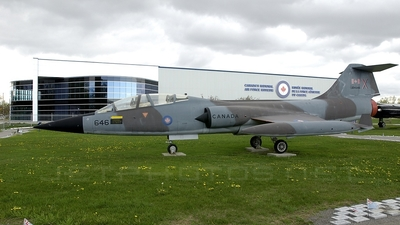 104646 - Canadair CF-104D Starfighter - Canada - Royal Canadian Air Force (RCAF)