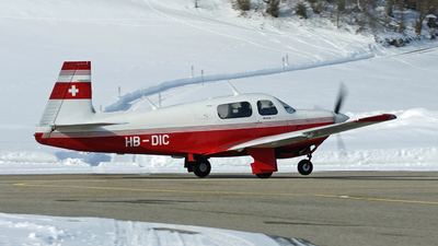 A picture of HBDIC - Mooney M20J - [243240] - © Jean-Charles Sautaux