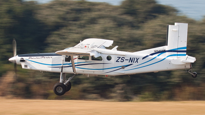 ZS-NIX - Pilatus PC-6/B2-H4 Turbo Porter - South Africa - Police