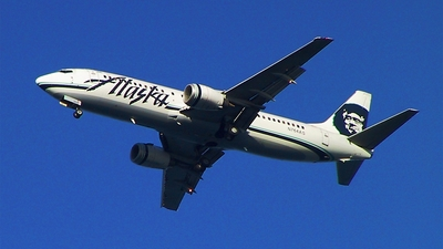 N764AS - Boeing 737-4Q8 - Alaska Airlines