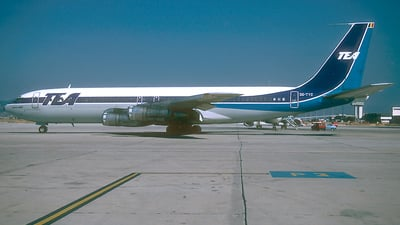 OO-TYC - Boeing 707-328B - TEA - Trans European Airways