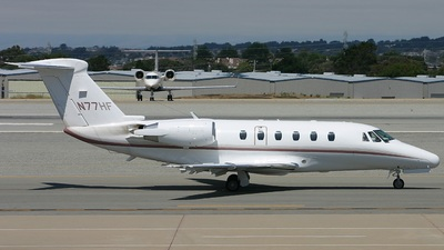 N77HF - Cessna 650 Citation VII - Private