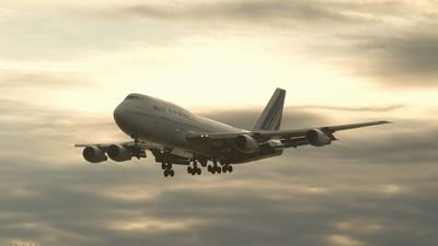 F-GETA - Boeing 747-3B3(M) - Air France