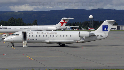 OY-MBJ - Bombardier CRJ-200LR - Scandinavian Airlines (Cimber Air)