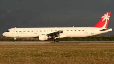 F-GYAQ - Airbus A321-211 - Air Méditerranée