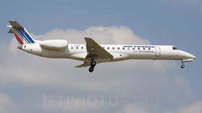 F-GUBF - Embraer ERJ-145MP - Air France (Régional Compagnie Aerienne)