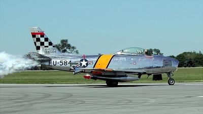 52-4584 - North American F-86 Sabre - Private