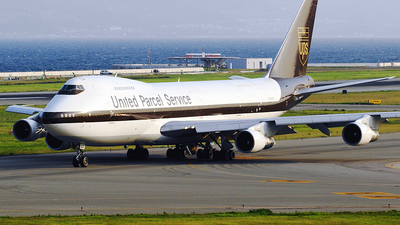 N523UP - Boeing 747-283B(SF) - United Parcel Service (UPS)