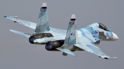 501 - Sukhoi Su-30MK - Russia - Air Force