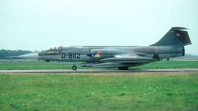 D-8112 - Lockheed RF-104G Starfighter - Netherlands - Royal Air Force