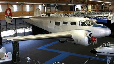 HB-GAC - Beech C-45 Expeditor - Switzerland - Bundesamt für Landestopografie