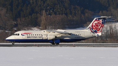 G-BZAV - British Aerospace Avro RJ100 - British Airways (CityFlyer Express)
