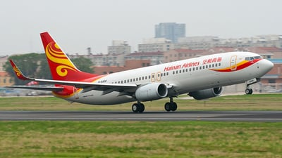 B-5408 - Boeing 737-84P - Hainan Airlines