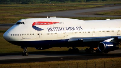 G-BNLP - Boeing 747-436 - British Airways
