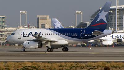 CC-CVB - Airbus A318-121 - LAN Airlines