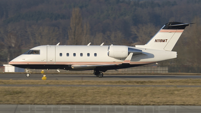 N118MT - Bombardier CL-600-2B16 Challenger 601-3A - Private