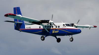 PJ-WIL - De Havilland Canada DHC-6-300 Twin Otter - Winair - Windward Islands Airways