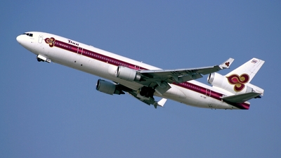 HS-TMF - McDonnell Douglas MD-11 - Thai Airways International