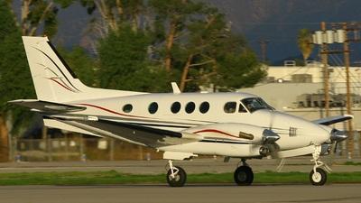 N91KA - Beechcraft C90 King Air - Pacific Flight Services