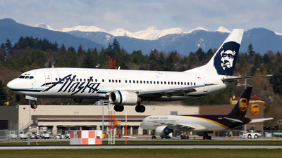 N768AS - Boeing 737-490 - Alaska Airlines
