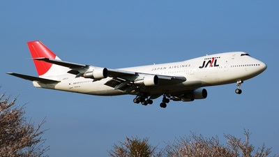 JA8131 - Boeing 747-246B - Japan Airlines (JAL)