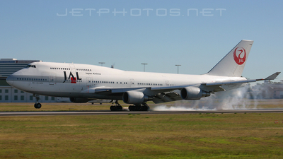 JA8910 - Boeing 747-446 - Japan Airlines (JAL)