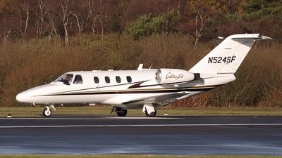 A picture of N524SF - Cessna 525 CitationJet CJ1 - [5250240] - © Bob Wood