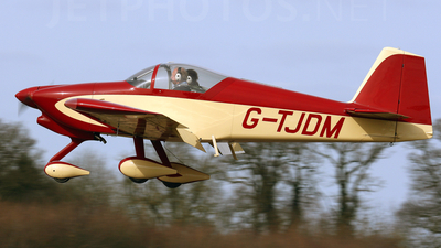 G-TJDM - Vans RV-6A - Private