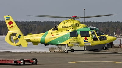 SE-JIC - Eurocopter AS 365N2 Dauphin - Lufttransport Svenska