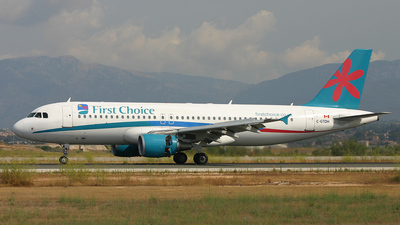 C-GTDH - Airbus A320-214 - First Choice Airways