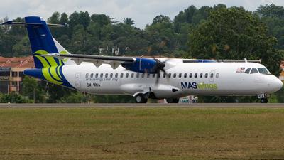 9M-MWA - ATR 72-212A(500) - MASWings