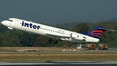 TC-IED - Fokker 100 - Inter Airlines
