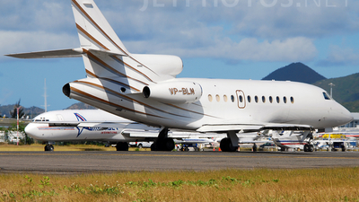 VP-BLM - Dassault Falcon 900 - Monarch General Aviation