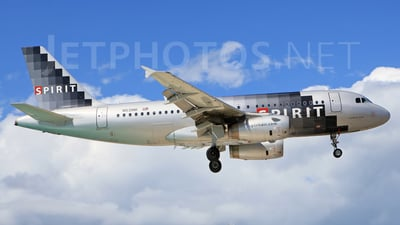 N531NK - Airbus A319-132 - Spirit Airlines