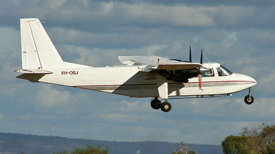 VH-OBJ - Britten-Norman BN-2A-21 Islander - Alligator Airways