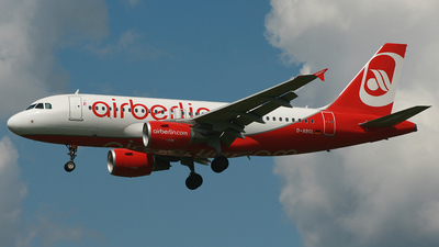 D-ABGL - Airbus A319-112 - Air Berlin