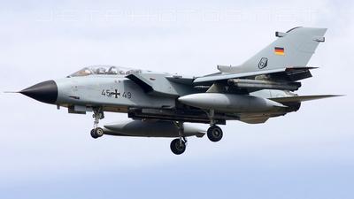 45-49 - Panavia Tornado IDS - Germany - Air Force