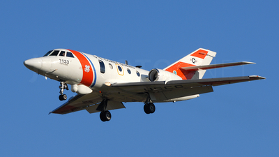 2133 - Dassault HU-25C Guardian - United States - US Coast Guard (USCG)