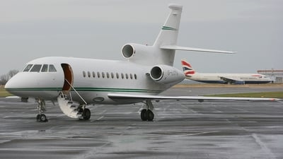 G-LCYA - Dassault Falcon 900EX - London City Airport Jet Centre