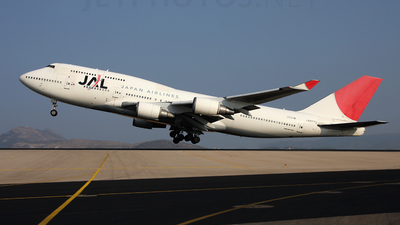 JA8079 - Boeing 747-446 - Japan Airlines (JAL)