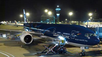 B-KPF - Boeing 777-367ER - Cathay Pacific Airways