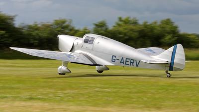 G-AERV - Miles M11A Whitney Straight - Private