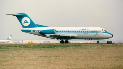 OO-DJA - Fokker F28-3000 Fellowship - Delta Air Transport (DAT)