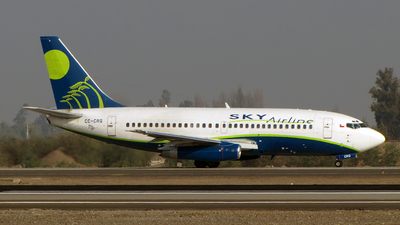 CC-CRQ - Boeing 737-230(Adv) - Sky Airline