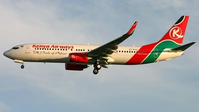 5Y-KYA - Boeing 737-8AL - Kenya Airways
